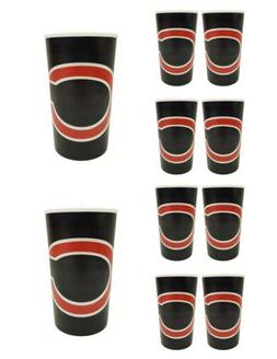 10 Chicago Bears Football 20oz Cups - BPA Free - Dishwasher