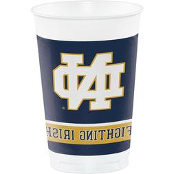 16-ct University of Notre Dame Plastic 20oz Disposable Cups