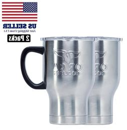 2-pack ORCA Chaser Cafe Stainless Steel Cup 20 oz