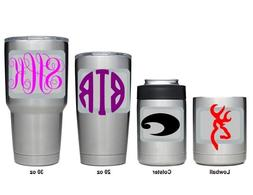 ~*~ 2 Vinyl Decals Stickers for your YETI Tumbler 30 oz 20 o