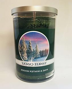 Yankee Candle Large 2 Wick PINE & WINTER WOODS Tumbler Candl