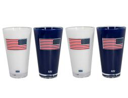 20 Oz. Double Wall Insulated American Flag Acrylic Tumbler B