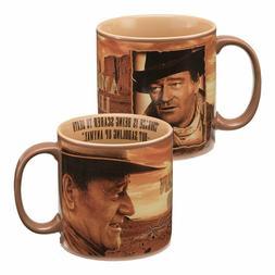 "20 Oz. Mug - John Wayne - ""Courage"" Collectible Figure"