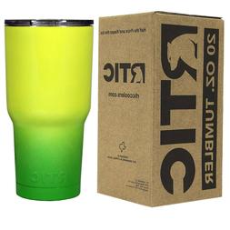 RTIC 20 oz Powder Coated Ombre Tumbler - 10+ Colors - FREE S