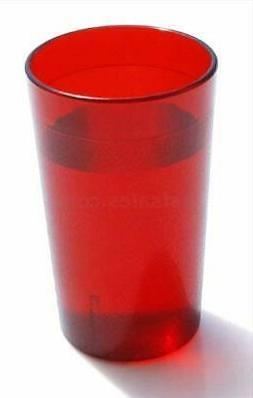 20 OZ RED 12PK Restaurant Break Resistant Drinking Glass Cup