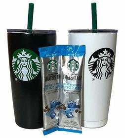 Starbucks 20 oz Stainless Steel Drink Tumbler Travel Cup wit