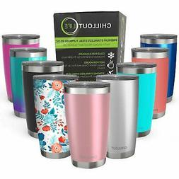 CHILLOUT LIFE 20 oz Stainless Steel Tumbler with Lid  Gift B