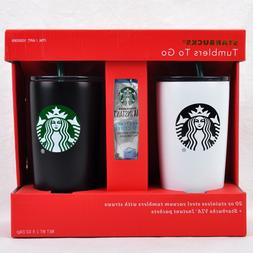 Starbucks 20 oz Stainless Tumblers To Go 2017 Limited Editio