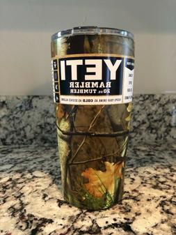 20 oz Tumbler Camouflage Hydro Dipped