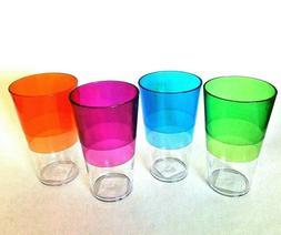 Chef Craft 20 oz. Tumbler Plastic Cups set of 4