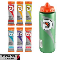 GATORADE 20 OZ WATER BOTTLE WITH GATORADE POWDER STICKS - CH