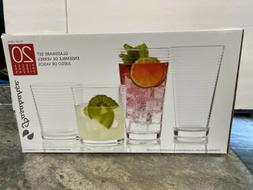 20 Piece GLASS Pasabahce Glassware Drinkware Set Tumbler 13