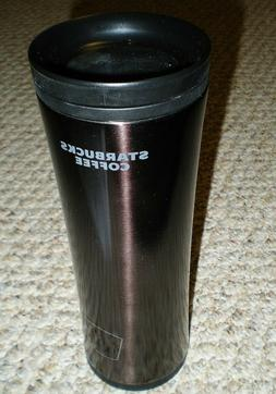 2009 Starbucks 20 oz Stainless Steel Coffee Tumbler Cup HTF
