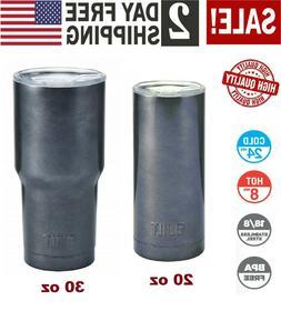 20oz 30oz Vacuum Insulated Tumbler Non-Spill Lid Travel Coff