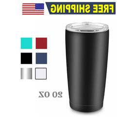 20oz stainless steel tumbler double wall vacuum