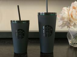 Starbucks 20oz or 16oz Matte Black Soft Touch Cold Cup Inter