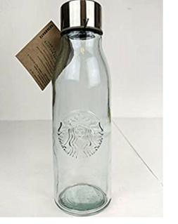 Starbucks 20oz Recycled Glass Water Bottle. Made In Spain. F