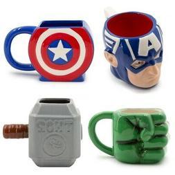 20oz sculpted 3d ceramic mug classic superhero
