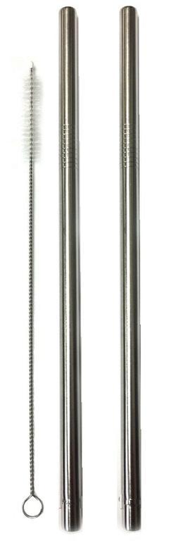 Yeti 20oz Stainless Steel Drinking Straw & Cleaning Brush 8.