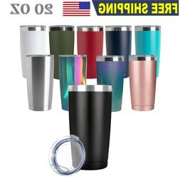 20oz Stainless Steel Tumbler Double Wall Vacuum Insulated Gl