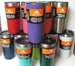 Ozark Trail 20oz Stainless Steel Vacuum Tumbler Lots of Colo