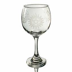 20oz Supernatural Wine Glass L1