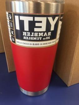 Yeti 20oz Tumbler; Brand New; Red!