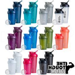 Blender Bottle 28oz and 20oz same color combo 2pcs new shake