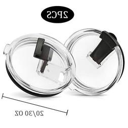 2Pcs Flip Top Splash Proof Spill Replacement Lid for Yeti 20
