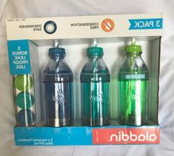 3 pack 20 oz milk bottle tumblers