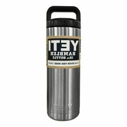 36 oz Yeti Rambler Bottle Vacuum Insulated, Stainless Steel