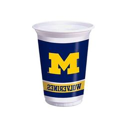 Creative Converting 374715 20 oz Printed Plastic Cups Univ o