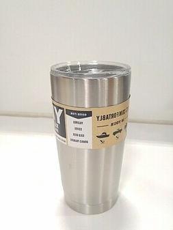 Yeti 38025 Tumbler Mug, 20 oz, Stainless Steel