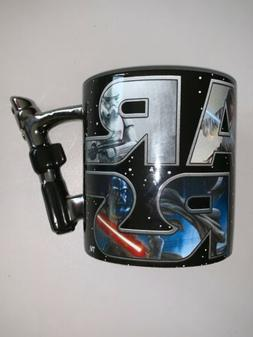 Star Wars 3D Lightsaber 20 oz. Ceramic Mug New Free Shipping