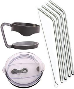 4 Bend Stainless Steel Straws Extra LONG