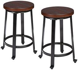 Ashley Furniture Signature Design - Challiman Bar Stool - Co