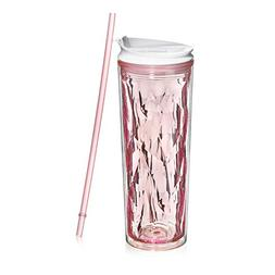 Cupture Crystal Click & Seal Shake Tumbler Cup for Hot or Co