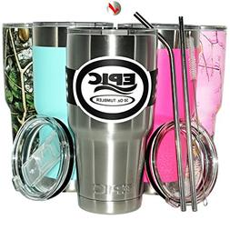 Insulated Tumbler Coffee Travel Mug - Stainless Steel Tumble