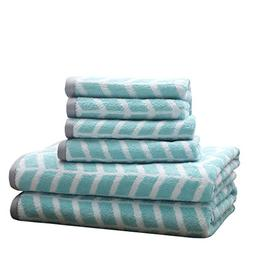 Intelligent Design Nadia Cotton Bathroom Towels, Jacquard Hi