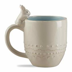 Tag, Embossed Bunny Easter Mug