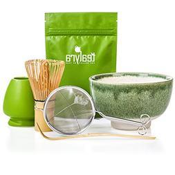 Tealyra - Matcha Tea Ceremony Start Up Kit - Complete Matcha