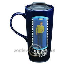 Vandor Star Trek Beam Me Up Scotty 20 Oz. Travel Mug