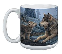 Wolf Brothers Extra Large Mug - 20-Ounce Jumbo Ceramic Coffe
