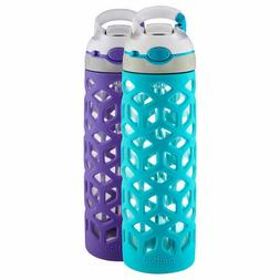 Contigo Ashland 20oz Dishwasher Safe Glass Water Bottle 2 co