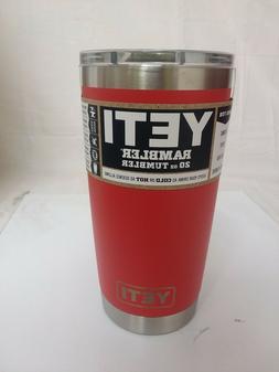 Authentic YETI 20oz Tumbler  *CANYON RED* NEW!!!!