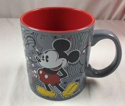 Disney Authentic MICKEY MOUSE Large Coffee/Tea Mug 20 Oz. Gr