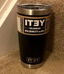 AUTHENTIC YETI Rambler 20 oz Tumbler with MagSlider Lid - br