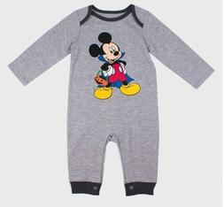 DISNEY BABY Boys' Mickey Mouse Vampire Dracula Long Sleeve R