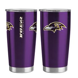 Baltimore Ravens 20oz Ultra Purple Tumbler NFL Boelter Brand
