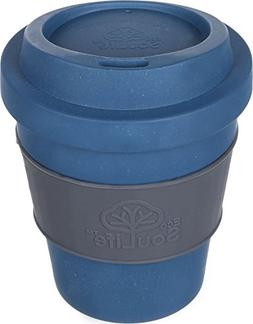 EcoSouLife Bamboo - BioSip Cup 12 Oz., Navy